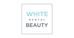 white dental beauty logo