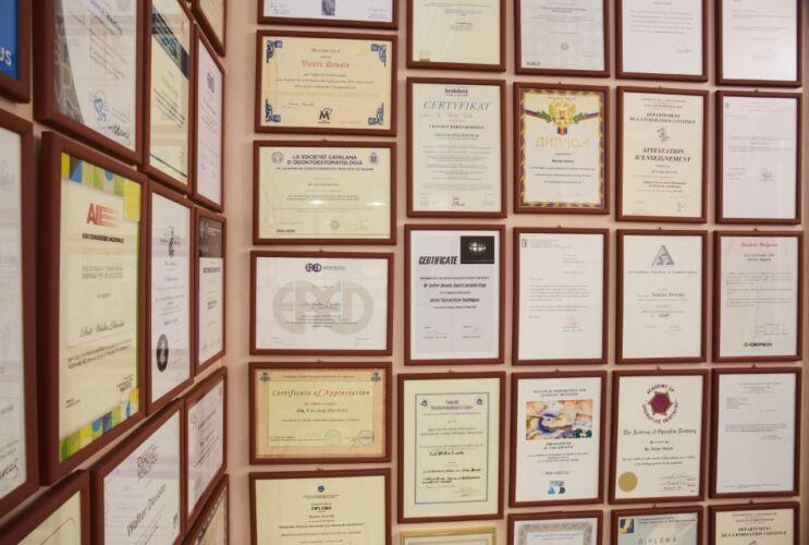 certificazioni sestri levante genova walter devoto dentista